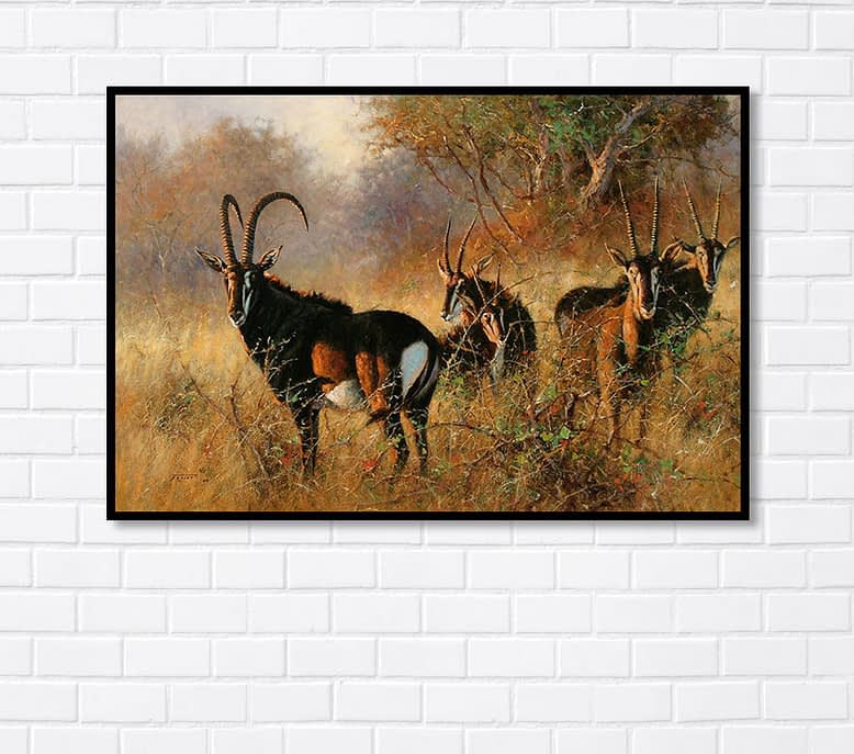 World Famous Animal Painting
