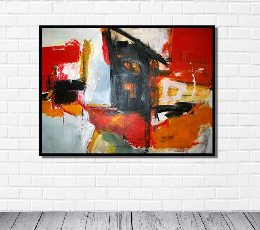World Famous Abstract Painting